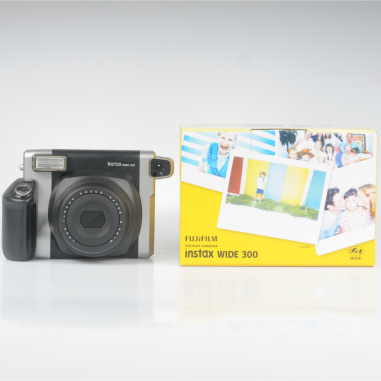 Fujifilm Instax Wide 300 Instant Film Camera with 5 packs of Wide Film