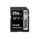 Lexar 1000X 256GB 150MB/s Professional U3 V60 UHS-II SDXC Memory Card