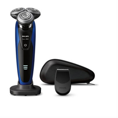 Philips Series 9000 Wet and Dry Men's Electric Shaver - S9186/12 - Black/ Blue