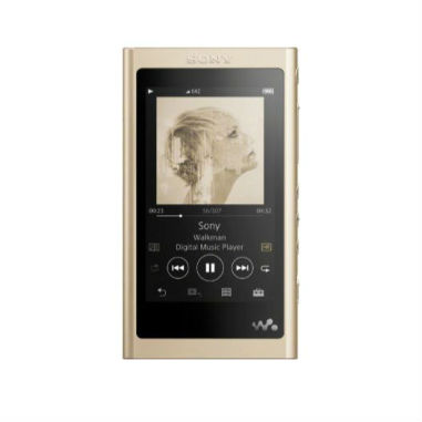 S0NY Walkman NW-A55 16GB High Resolution Audio Player - Gold (Headphone not included)
