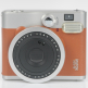 Fujifilm Instax mini 90 Neo Classic - Brown with mini film Photo Paper 10 Packs