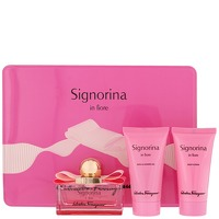 Salvatore Ferragamo Signorina In Fiore Eau de Toilette Spray 50ml Gift Set