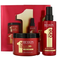 Revlon Professional Uniq One Classic Hair Treatment 150ml and Conditioning Hair and Super 10R Hair Mask 300ml