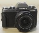 Fujifilm X-T100 Digital Cameras with XC 15-45mm f/3.5-5.6 OIS PZ Lens - Dark Silver