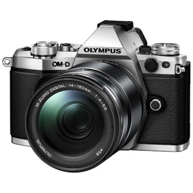 0lympus E-M5 Mark II Kit with 14-150mm Mark II Lens Digital Camera - Silver