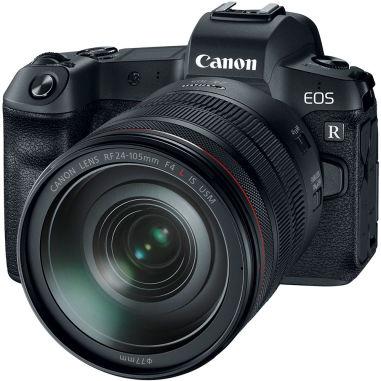 Canon EOS R Mirrorless Digital Camera with RF 24-105mm Lens