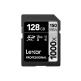 Lexar 1000X 128GB 150MB/s Professional U3 V60 UHS-II SDXC Memory Card