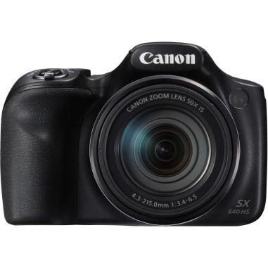Canon PowerShot SX540 HS Digital Camera - Black