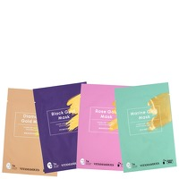 Vitamasques Sheet Face Mask Gold Collection Bundle x 4