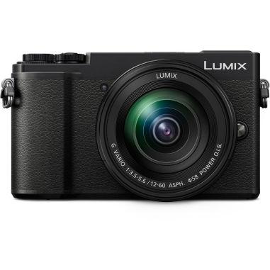 Panasonic Lumix DMC-GX9 with 12-60mm Lens Mirrorless Digital Camera - Black