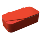 Smartclean Eyeglasses Ultrasonic Cleaner Vision.5 - Red Home Appliances