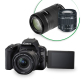 Canon EOS 200D Twin kit with 18-55 IS STM and 55-250mm IS STM Lens Digital SLR Camera