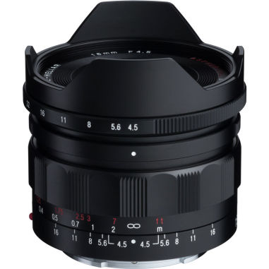 Voigtlander Super Wide-Heliar 15mm f/4.5 Aspherical III Lens for Sony E mount