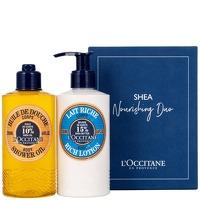 L'Occitane Shea Nourishing Duo - Shower Oil 250ml and Rich Body Lotion 250ml