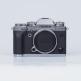 Fujifilm X-T3 Digital Cameras Silver Body with XF 27mm F2.8 Black Lens