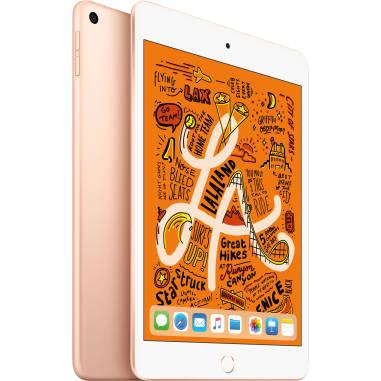 Apple iPad mini (2019) MUU62 256GB WiFi with Folding Case (Black) - Gold (with 1 year official Apple Warranty)