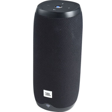 JBL Link 20 Voice-activated Portable Speaker - Black (UK Version)