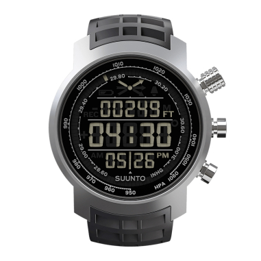 Suunto Elementum Sports Watch (SS014522000) - Terra Black Rubber (Dark Display)