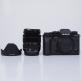 Fujifilm X-T3 Digital Camera with XF 18-55mm and XC 50-230mm Lens - Black