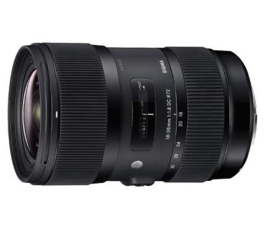 Sigma Art 18-35mm f/1.8 DC HSM Lens For Nikon Mount